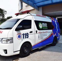 RSUD Taman Husada Bontang Tambah Satu Unit Ambulance