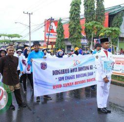 Ikut Meriahkan BCC 2019, RSUD Taman Husada Bontang Kampenyakan Budaya Cuci Tangan
