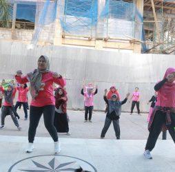 Senam Diabetes Bersama Komunitas PTM RSUD Taman Husada Bontang