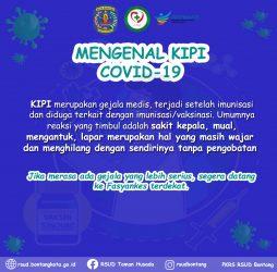 Mengenal KIPI Covid-19