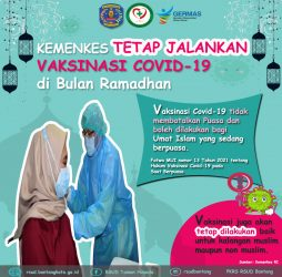 Vaksinasi Covid-19 Saat Ramadhan