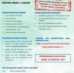 Rekrutmen Tenaga Non PNS