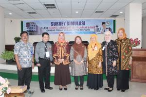 Penutupan Survei Simulasi Akreditasi RS 2012