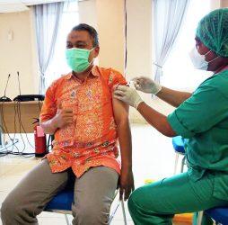 Vaksinasi Tahap Ketiga Bagi Tenaga Kesehatan RSUD Taman Husada Bontang
