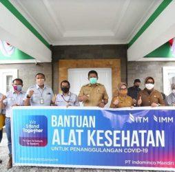 Alat Kesehatan Untuk RSUD Taman Husada Bontang, Donasi Dari PT Indominco Mandiri