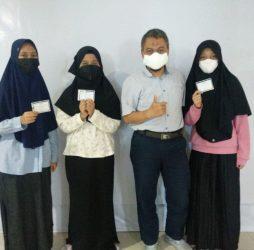 RSUD Taman Husada Bontang Gelar Vaksinasi Tahap Kedua
